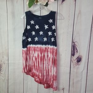 Chaps | Flag Tank Top